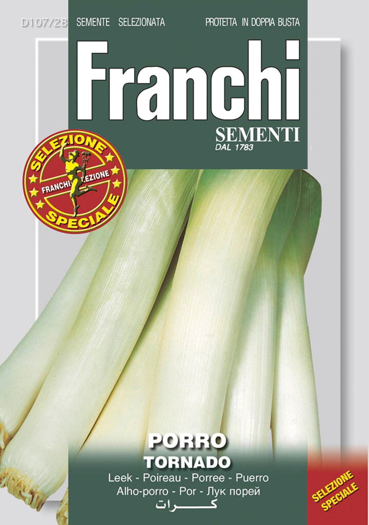 Allium porrum 'Tornado/D?Elbeuf ' plant