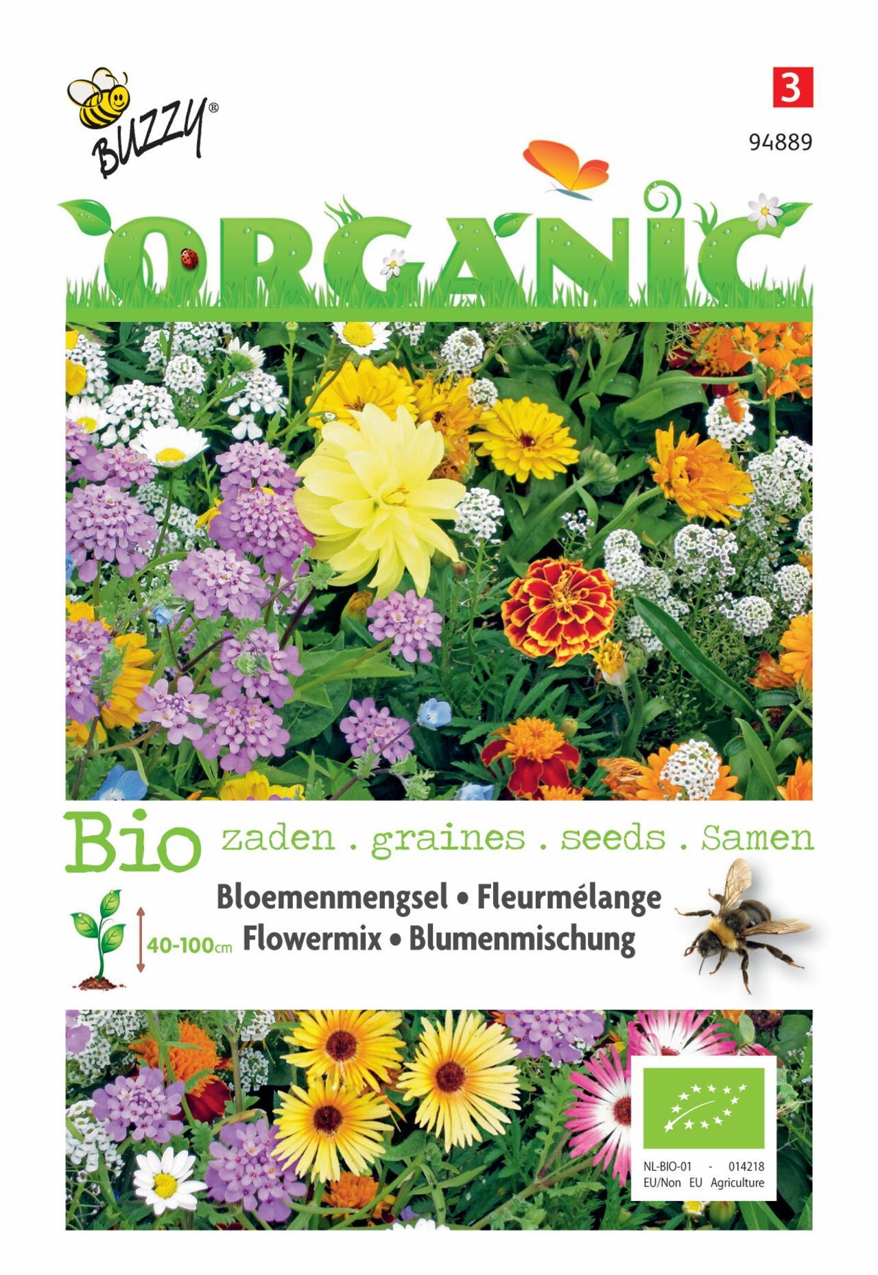 Bloemenmengsel Bijen (BIO) plant