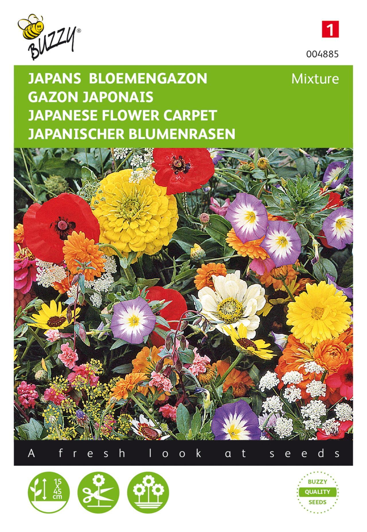 Japans Bloemengazon plant